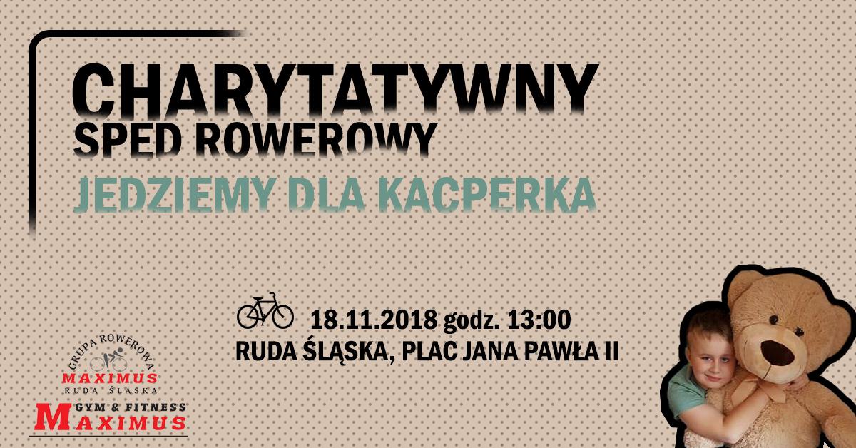 Charytatywny Spęd Rowerowy - Ruda Śląska