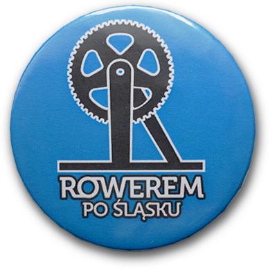 Przypinka Rowerem Po Śląsku