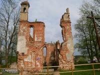 Ruiny kościoła w Mielniku
