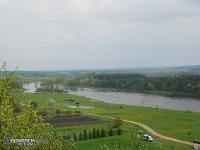 Widok na Dolinę Bugu - Góra Zamkowa w Mielniku