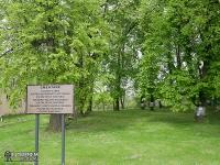 Zabytkowy cmentarz - Trawniki