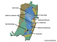 Łężczok - mapa