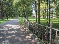 Mostek w Parku Świerklaniec