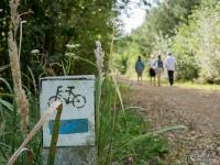 Zalew Łęg - niebieski szlak rowerowy