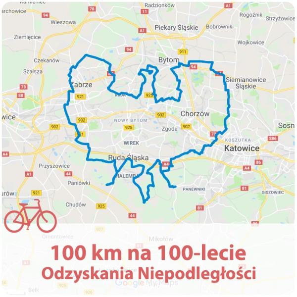 100km na 100-lecie Odzyskania Niepodległości