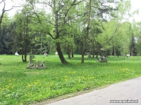 Park Śląski - Rzeźby
