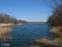 Duże jezioro w Rogoźniku