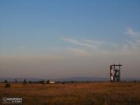 Widok na góry i kopalnie z hałdy Kostuchna