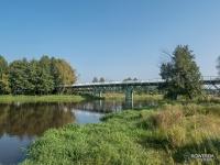 Most nad Wartą w Bobrownikach