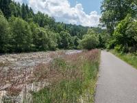 Droga rowerowa wzdłuż Rycerskiego Potoku