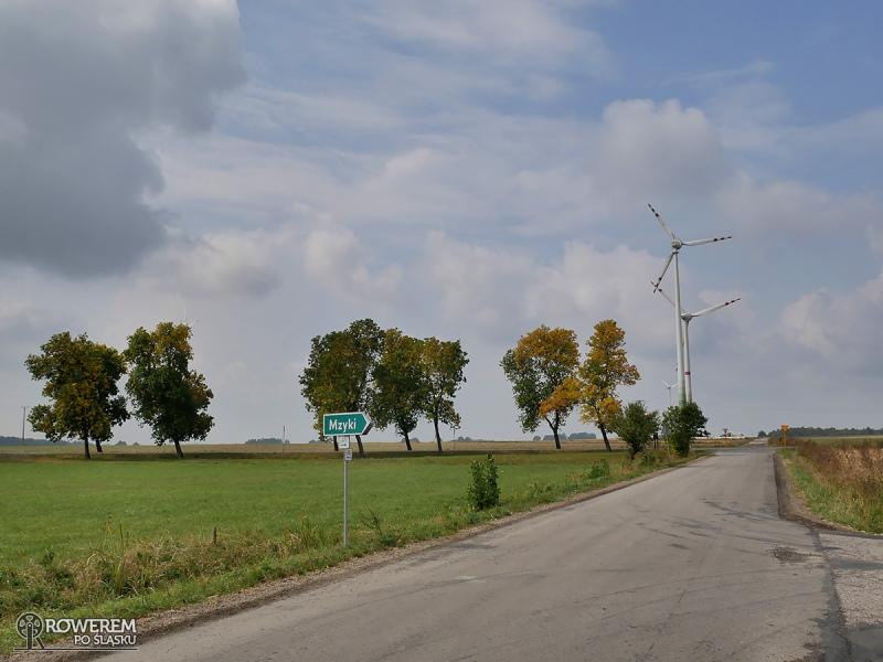 Liswarciański Szlak Rowerowy przed Mzykami i źródłem Liswarty