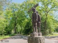 Rzeźba Halabardników strzegących Promnic