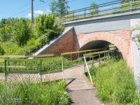 Słynny mostek pod mostkiem w Kobiórze