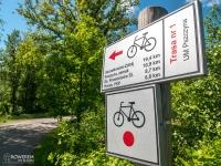 Czerwony szlak rowerowy nr 1
