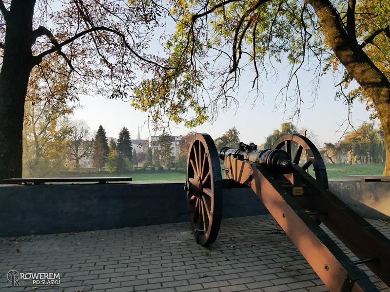 Armata przy Zamku Piastowskim w Raciborzu