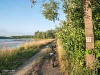 Żółty szlak rowerowy