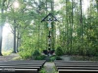 Kapliczka leśna w Palowicach
