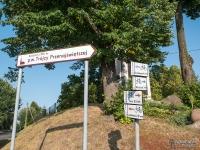Skrzyżowanie szlaków w Palowicach