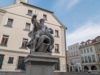 Fontanna Neptuna na rynku w Gliwicach