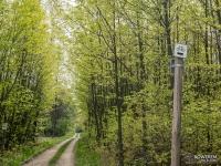 Czarny szlak rowerowy z Toszka do Pławniowic