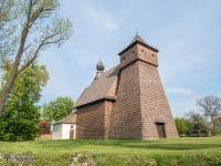 Drewnany kościół św. Jerzego w Gliwicach Ostropie