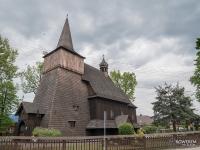 Drewniany kościół św. Mikołaja w Wilczy