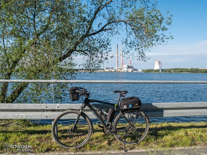 Punkt widokowy na jezioro i elektrownie