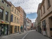 Ulica Sobieskiego prowadząca z rynku do bazyliki