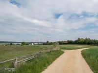 Szutrowa droga rowerowa na Pniowiec