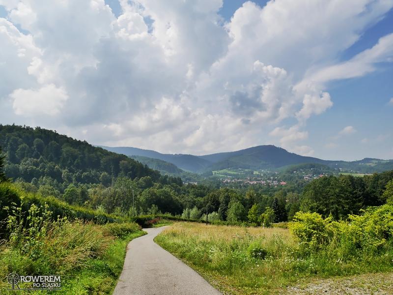 Piękny krajobraz Beskidu Śląskiego