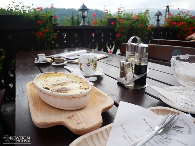Obiad w Chacie Olimpijczyka Jasia i Helenki