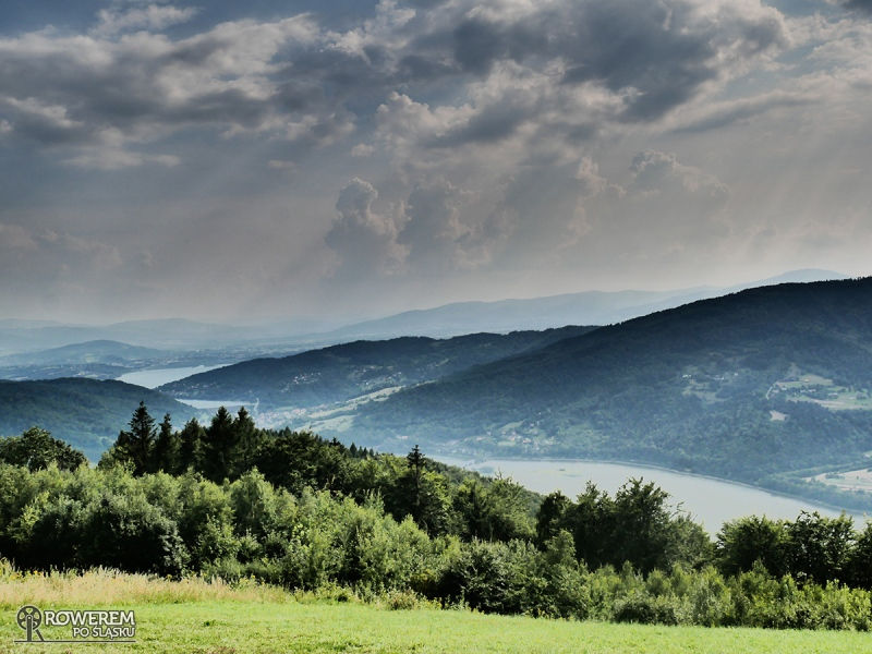 Piękny widok z Góry Żar