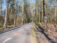 Czerwony szlak rowerowy nr 1 na Muchowcu