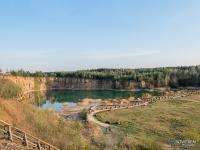 Widok na zbiornik Wydra