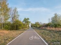 Droga rowerowa przez Sadową Górę