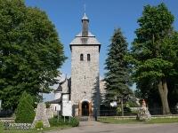 Zabytkowy kościół Świętej Trójcy i Świętego Floriana w Zawierciu