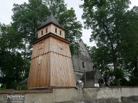 Drewniana dzwonnica w Tenczynku