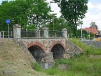 Kamienny most na rzece Mleczna w Katowicach