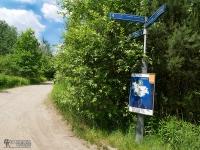 Oznakowanie szlaku w Tychach