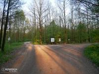 skrzyżowanie szlaków - Las Murckowski