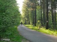 czarny szlak rowerowy
