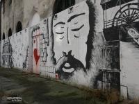 Mural w mysłowickiej dzielnicy Słupna