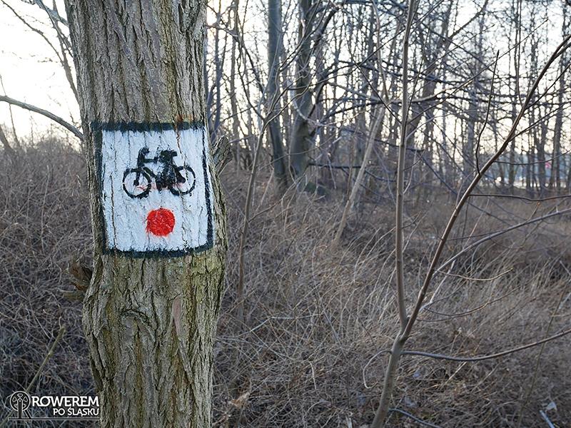 Początek szlaku rowerowego Dawnego Pogranicza