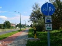 ZIelony szlak rowerowy w Tychach