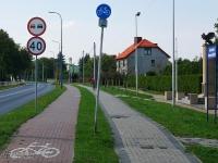 Droga rowerowa w Czułowie