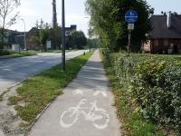 Żółty szlak rowerowy w Czułowie