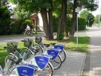 Wypożyczalnia rowerów przy ul. Sikorskiego
