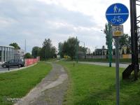 Kiepskie drogi rowerowe przy ul. Asnyka i Budowlanych