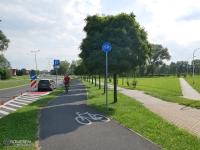 Infrastruktura rowerowa przy Parku Suble