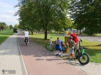 Punkt naprawy rowerów